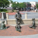 Monument in the City Dock to Alex Haley and Roots, Annapolis, MD Maryland