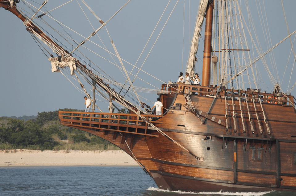 spanish tall ship el galeon andalucía to dock in sailing capital of