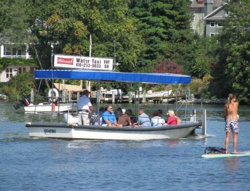 Daily Water Taxi Service Begins in Annapolis