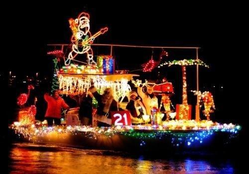 Eastport Yacht Club Lights Parade