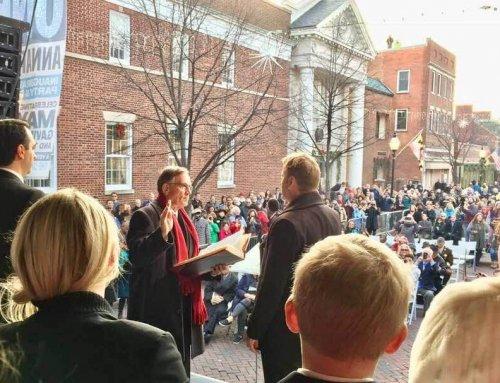 Buckley Sworn In As 137th Mayor of Annapolis