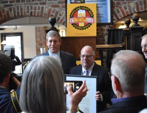 "State officials toast Maryland's ""FeBREWary"" at Annapolis Federal House"