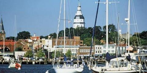 Sunday in Annapolis, MD (Boating and Touring)